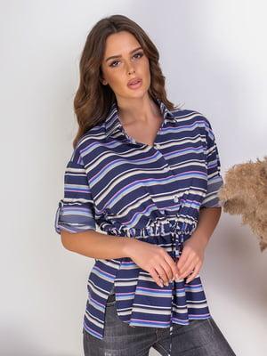 Блуза в полоску   5383812