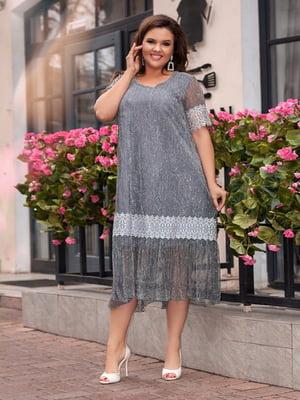 Платье серое | 5383889