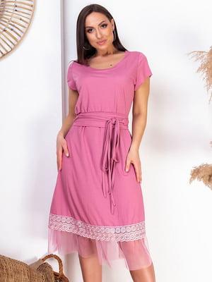 Сукня малинового кольору | 5383939