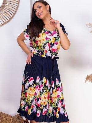 Сукня з квітковим принтом | 5383954