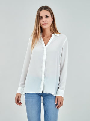 Рубашка молочного цвета | 5384617