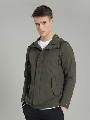 Куртка цвета хаки | 5384692