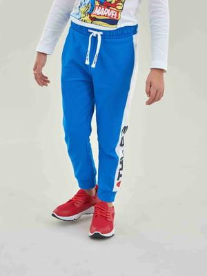 Брюки спортивные синие | 5384719