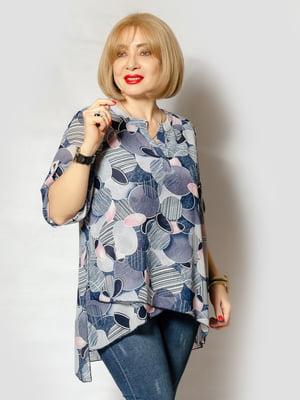 Блуза в принт | 5385087