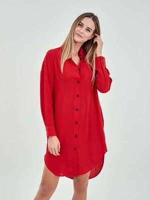 Рубашка красная | 5384502