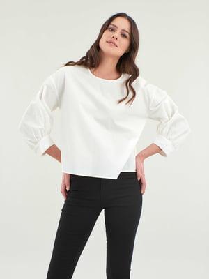 Блуза молочного цвета   5384559