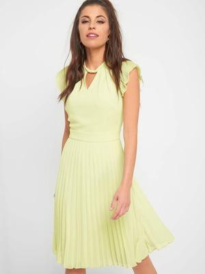 Сукня лимонного кольору | 5384307