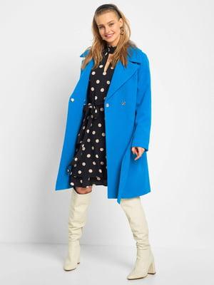 Пальто синее | 5384326