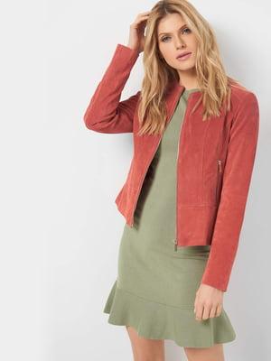 Куртка цегляного кольору   5384332