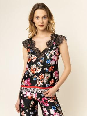 Блуза з принтом | 5384105