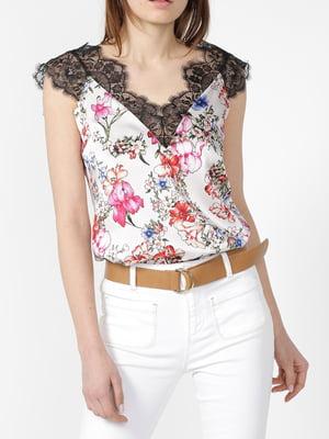 Блуза з принтом | 5384106