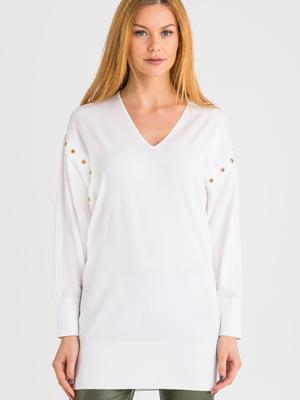 Пуловер білий   5384112