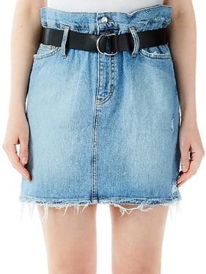 Спідниця синя джинсова   5384203