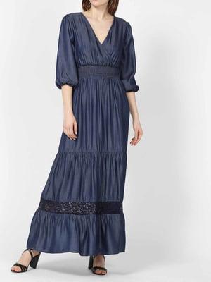 Платье синее | 5384215