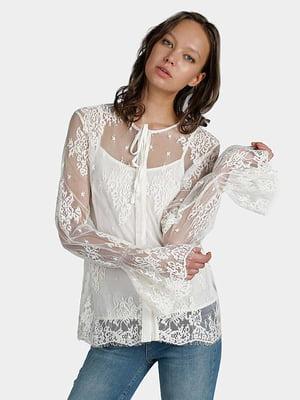 Блуза біла | 5384219