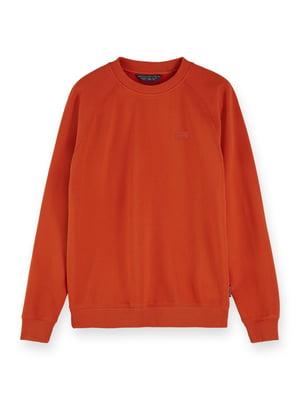 Свитшот морковного цвета | 5384782