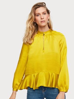 Блуза желтая | 5384825