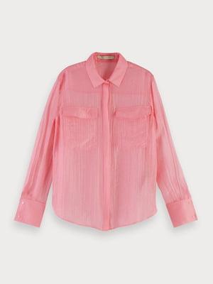 Рубашка розовая   5384908