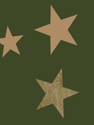 Шарф зелений з принтом | 5384038