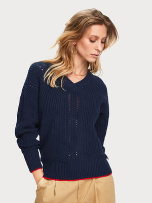 Пуловер синій   5319729