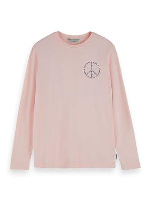 Лонгслив розовый | 5384786
