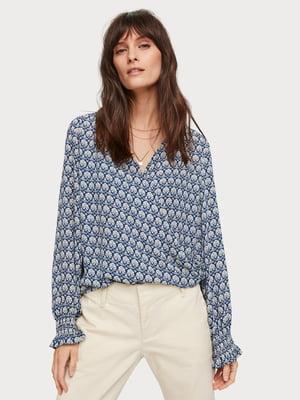 Блуза с принтом | 5384819