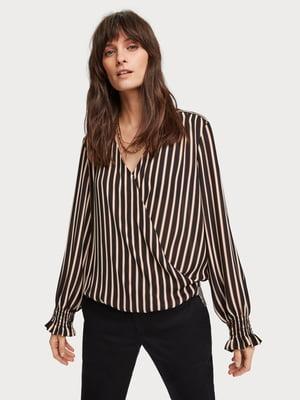 Блуза в полоску | 5384820