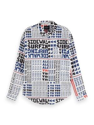 Рубашка с принтом | 5384840