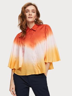 Рубашка трехцветная | 5384847