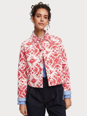 Куртка з принтом   5384849