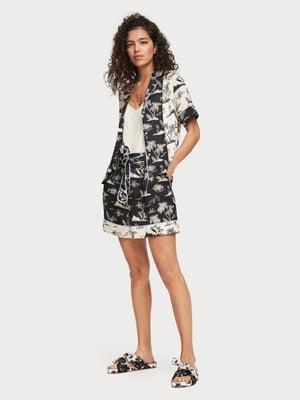 Блуза с принтом | 5384859