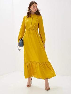 Платье желтое | 5152634