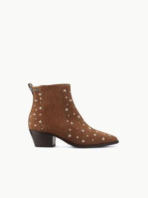 Ботинки коричневые | 5384150