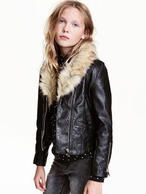 Куртка чорна | 5386307