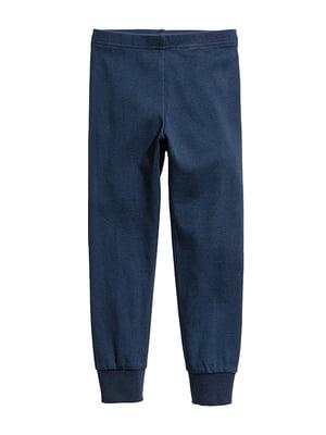 Штани для сну сині | 5386435