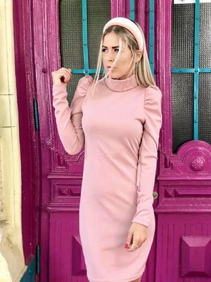 Сукня кольору пудри   5386565