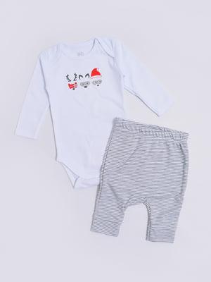 Комплект: боді і штани | 5387363