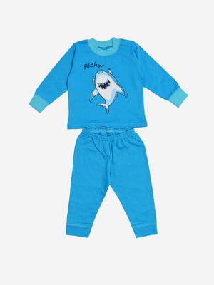 Піжама: лонгслів і штани | 5387376