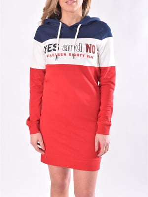Сукня червоно-біло-синя | 5384019