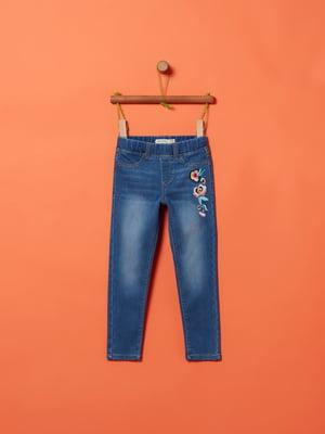Джегінси сині з декором | 5384373
