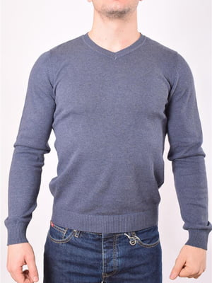 Пуловер синий | 5369435