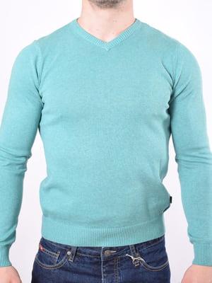Пуловер голубой | 5369770