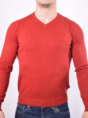 Пуловер красный | 5369772