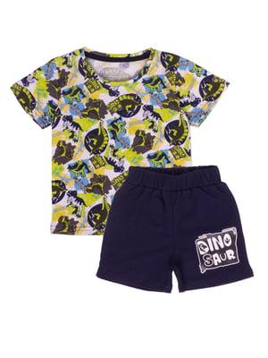 Піжама: футболка і шорти | 5387620