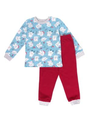 Пижама: джемпер и брюки | 5387645