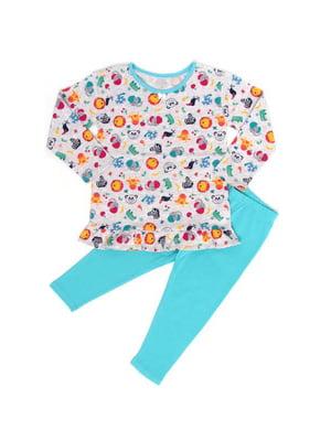 Пижама: джемпер и брюки | 5387647