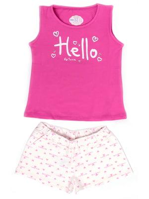 Пижама: майка и шорты | 5387667