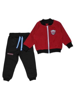 Костюм спортивный: кофта и брюки | 5387678