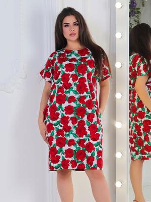Сукня в квітковий принт | 5387711