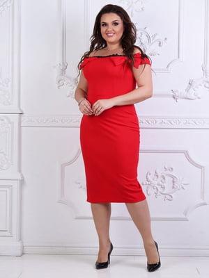 Сукня червона | 5387716